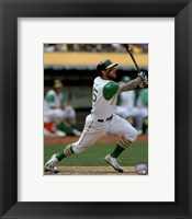 Framed Brett Lawrie 2015 Action