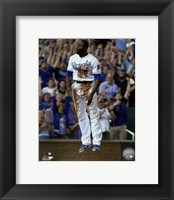 Framed Lorenzo Cain 2015 Action