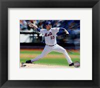 Framed Matt Harvey Motion Blast