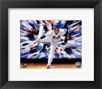 Framed Noah Syndergaard Motion Blast