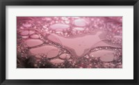 Framed Water Reflecting Purple