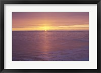 Framed Lake Superior Sunset 31
