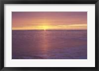 Framed Lake Superior Sunset 31