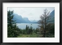 Framed Glacier National Park  Lake 14