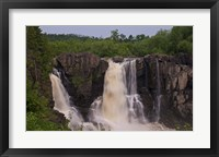 North Shore Rocky Waterfalls II Framed Print