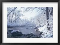 Framed Buffalo River Snow 45