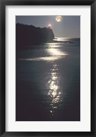 Framed Lake Superior Moon 12