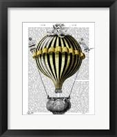 Baroque Fantasy Balloon 2 Framed Print