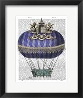 Baroque Fantasy Balloon 4 Framed Print