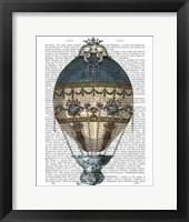 Framed Baroque Fantasy Balloon 1