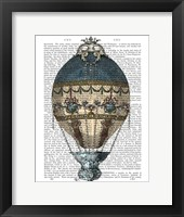 Baroque Fantasy Balloon 1 Framed Print