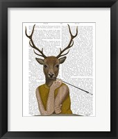 Dear Audrey Framed Print