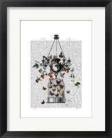 Strawberry Chandelier Framed Print