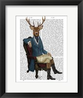 Distinguished Deer Full Framed Print