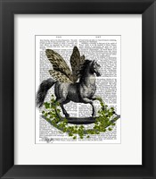 Framed Rocking Horse Fly