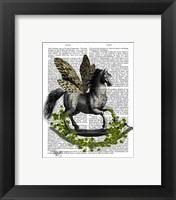 Framed Rocking Horse Fly