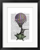 Navigating Rabbit Framed Print
