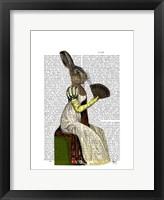 Miss Hare Framed Print