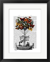 Butterfly Airship Framed Print