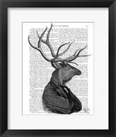 Framed Deer Portrait 1