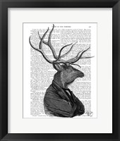Deer Portrait 1 Framed Print
