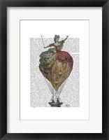 Hot Air Balloon Woman 3 Framed Print