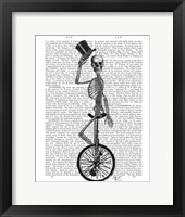 Framed Skeleton on Unicycle