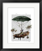 Diligenza And Flying Creatures Framed Print