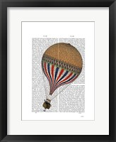 Le Tricolore Framed Print