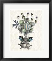 Flutter Time Framed Print