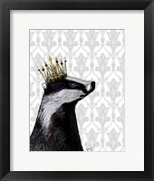 Framed Badger King II