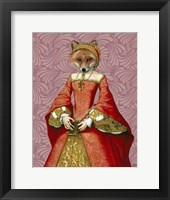 Framed Fox Queen