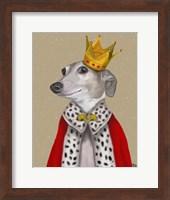Framed Greyhound Queen