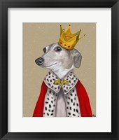 Framed Greyhound Queen