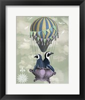 Framed Flying Penguins