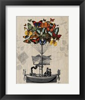 Framed Butterfly Airship