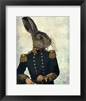Framed Lieutenant Hare