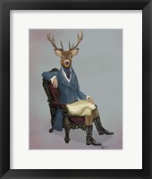 Framed Distinguished Deer Full