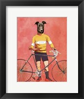 Framed Greyhound Cyclist