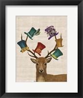 Framed Hat Collector Deer