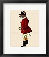 Fox Hunter 1 Framed Print