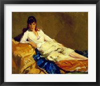 Framed Marjorie Reclining, 1918