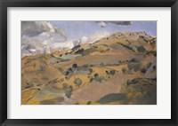 Framed Landscape in Provence