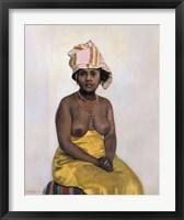 Framed African Woman, 1910