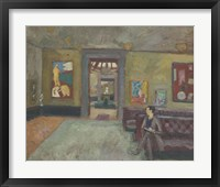 Framed Room in the Second Post-Impressionist Exhibition in 1912
