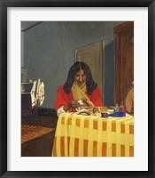 Framed Mme Felix Vallotton, Nee Gabrielle Bernheim, (1863-1932)