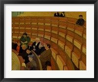 Framed Third Gallery at the Theatre du Chatelet, 1895
