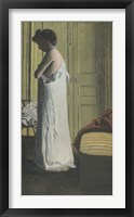 Framed Woman Removing her Chemise, c. 1900