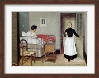 Framed Sick Patient (Helene Chatenay), 1892