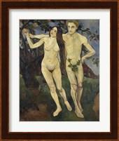 Framed Adam and Eve, 1979
